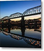 Holiday Lights Chattanooga #3 Metal Print
