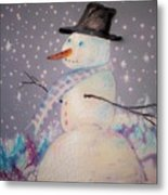Holiday Magic Metal Print