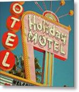 Holiday Motel, Las Vegas Metal Print