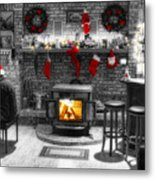 Holiday Spirit Magic Dream Metal Print