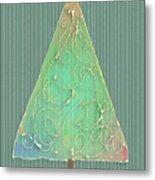 Holiday Tree Metal Print