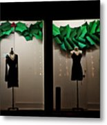 Holiday Window Fashion Metal Print