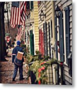 Holiday Wishes Iv Metal Print