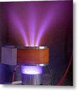 Hollow-anode Nitrogen Plasma Source Metal Print