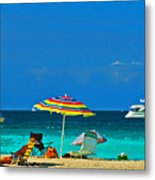 Hollywood Beach Florida Metal Print