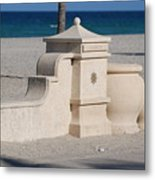 Hollywood Beach Metal Print