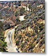 Hollywood Sign / Hollywood Hills Metal Print