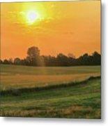 Holmes County Sunrise Metal Print