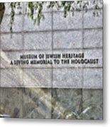 Holocaust Museum Of Jewish Heritage Ny Metal Print