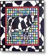 Holstein 3 Metal Print