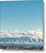 Holston Mountain Over Bristol Va/tn Metal Print