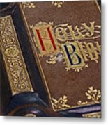Holy Bible Metal Print