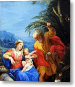 Holy Family Metal Print