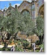 Holy Gardens Metal Print
