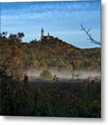 Holy Hill In Fall Metal Print