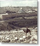 Holy Land: Jerusalem Metal Print