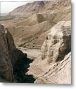 Holy Land: Qumran Caves Metal Print
