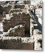 Holy Land: Qumran Ruins Metal Print