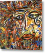 Holy Man Metal Print
