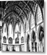 Holy Name Cathedral Chicago Bw 03 Metal Print