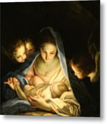 Holy Night Metal Print