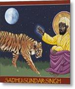 Holy Sadhu Sundar Singh 189 Metal Print