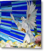 Holy Spirit Dove Metal Print