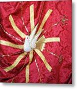 Holy Spirit Flag Metal Print