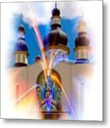 Holy Trinity Cathedral  Metal Print
