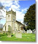 Holy Trinity Church - Ashford-in-the-water Metal Print