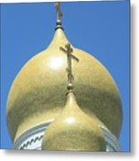 Holy Virgin Cathedral In San Francisco Metal Print