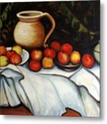 Homage To Cezanne Metal Print