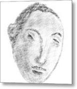 Homage To Georges Seurat Metal Print