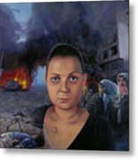 Homage To Layal Nagib Metal Print