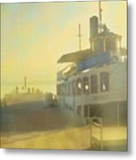 Home By Sunset Metal Print