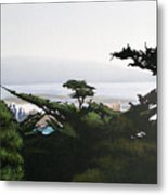 Home By The Sea Metal Print