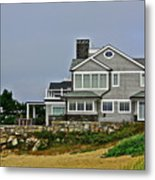Home By The Shore Metal Print