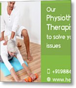 Home Care Medical Services Metal Print