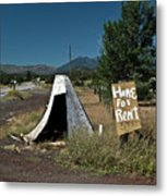 Home For Rent Metal Print