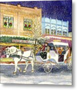 Home For The Holidays Metal Print