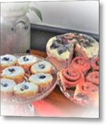 Home Made Deserts  Metal Print