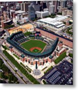 Home Of The Orioles - Camden Yards Metal Print