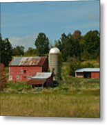 Home On The Farm Metal Print