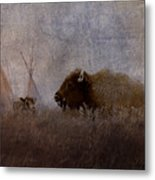 Home On The Range Metal Print by Ron Jones