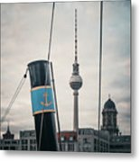 Home Port Berlin Metal Print