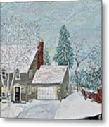 Winter Home Metal Print