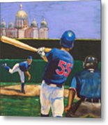 Home Run Metal Print