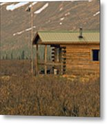 Home Sweet Fishing Home In Alaska Metal Print