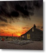 Home To Derek Jarman Metal Print by Lee-Anne Rafferty-Evans