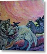 Homecoming Wolves And Ravens Metal Print